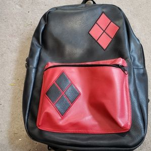 Large harley quinn backpack